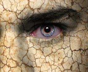 Depersonalisatie gezicht klei niet echt